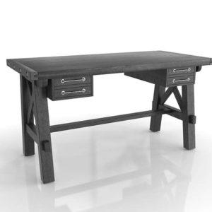 Jaxon 3DModeling Desk LivingSpaces