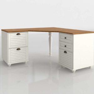 Whitney Corner Desk Set PotteryBarn