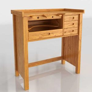 Work Bench in 3D Home Design