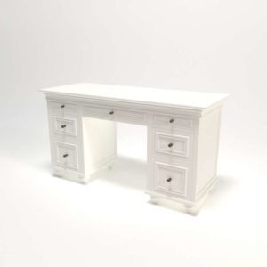 Chelsea 3D Model Desk&Hutch PBteen Design
