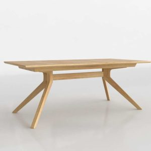 Cross Extension Table DWR 3D Model