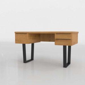 Taiga 3D Model Desk Article