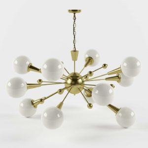 Sputnik Pendant 3D Design