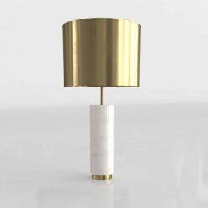 Zuo Modern York Table Lamp 3D Model