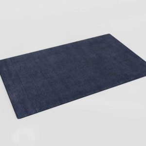 CrateAndBarrel Baxter Indigo Wool Rug