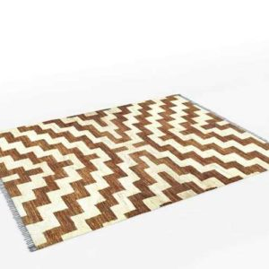 JonathanAdler Stepped Bridget Hand-Knotted Rug