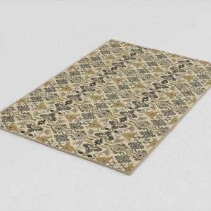 CrateAndBarrel Delphine Sage Wool Rug 02