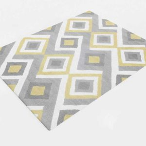 RugsUSA Radiante BC62 Interconnected Diamonds Rug