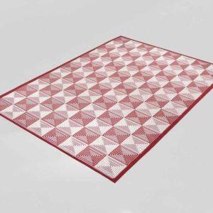 ZipcodeDesign Charlotte Red Indoor Outdoor Area Rug
