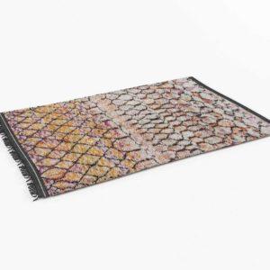 SoukieModern Vintage Moroccan Talsint Rug