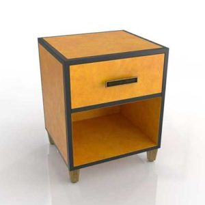 WestElm Atelier Leather Wrapped Nightstand 02