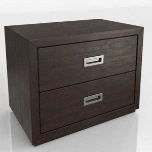 Aspect Coffee Modular 2 Drawer Storage Unit