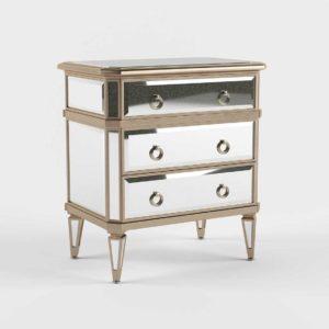 Ballarddesigns Deanna Mirrored Side Table