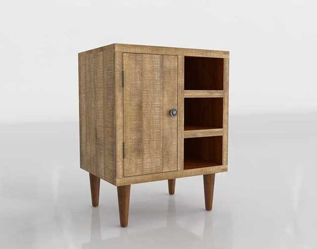 Worldmarket Rustic Wood Cabinet