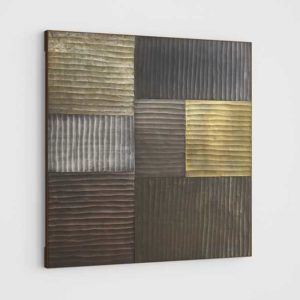 CrateAndBarrel District Metallic Wall Art