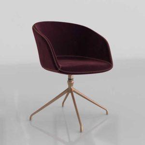 Sunpan Sunshine Swivel Chair Cabernet