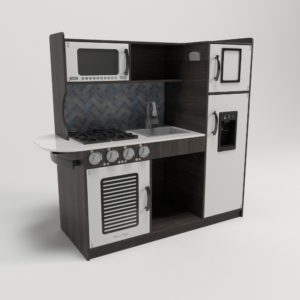 Glancing Eye 3D Kitchen Design