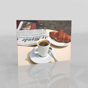 3D Design Coffee Espresso Newspaper