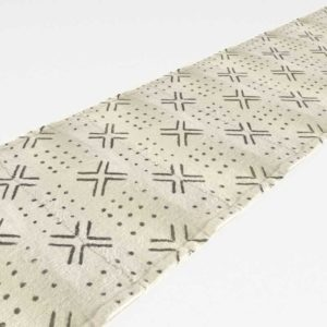 CB2 Mudcloth Table Runner 90