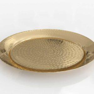 CB2 Cassini Hammered Brass Bowl