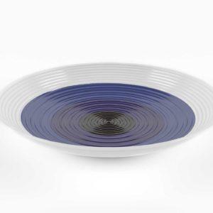 Crateandbarrel Swirl Centerpiece Bowl