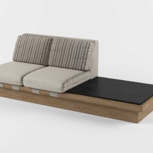 3D Model Settees&Chaises Living Room 117