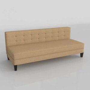 3D Model Settees&Chaises Living Room 118