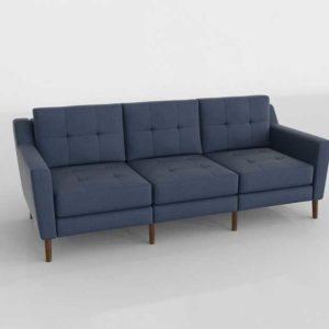 Burrow Sofa 3D Design