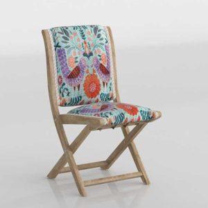 Anthropologie Jimena Terai Folding Chair