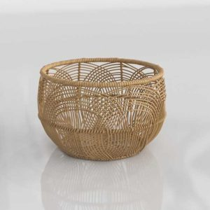 Target Woven Round Rattan Basket Small