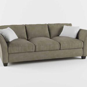 3D Model Casual Sofa Glancing Eye 01