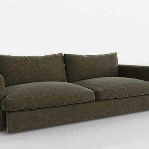 3D Model Casual Sofa Glancing Eye 02