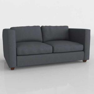 3D Model Casual Sofa Glancing Eye 03