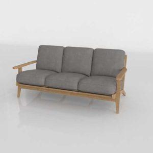 Wayfair Dawson Sofa 3D Model