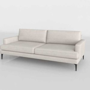 West Elm Andes Sofa Twill Stone