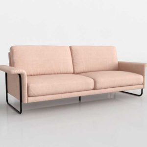 Urbanoutfitters Madeline Sleeper Sofa Rose
