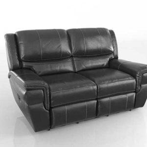 Sofa Reclinable 3D Biplaza Abrams Power