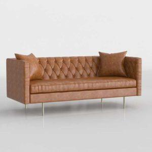 Wayfair Middleborough Sofa Honey Tam
