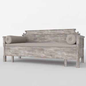 3D Model Classic Sofa Glancing Eye 11