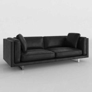 2Modern Modloft Fulton Three Seater Sofa