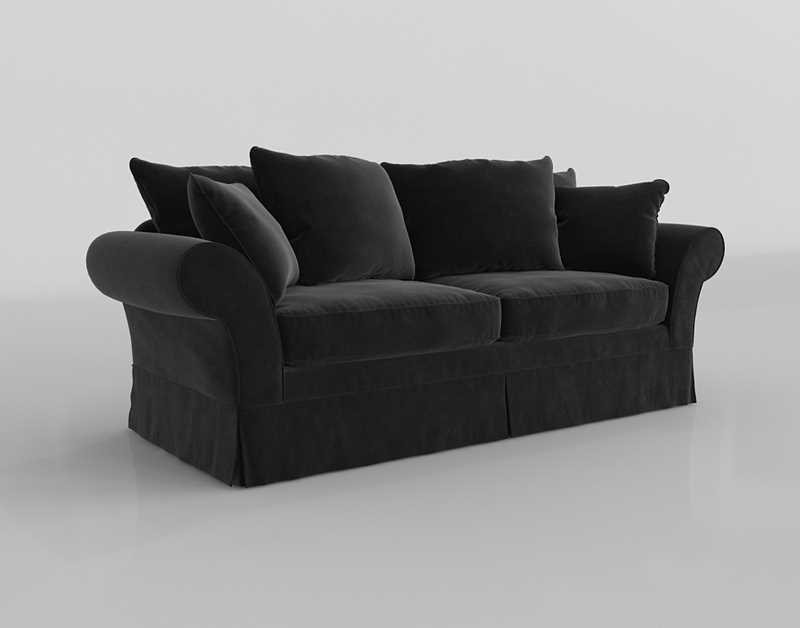 Astonishing Pottery Barn Charleston Grand Sofa 3D Model Glancing Eye Gmtry Best Dining Table And Chair Ideas Images Gmtryco