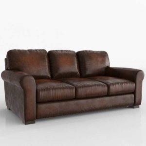 3D Model Classic Sofa Glancing Eye 12