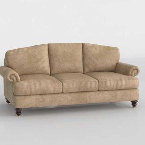 3D Model Classic Sofa Glancing Eye 15
