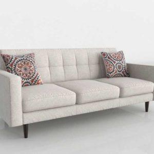 3D Model Classic Sofa Glancing Eye 17