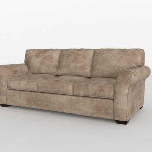 3D Model Classic Sofa Glancing Eye 18