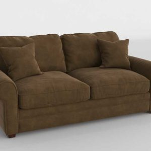 3D Model Classic Sofa Glancing Eye 19