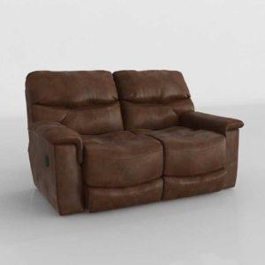 3D Model Classic Sofa Glancing Eye 20