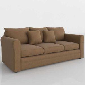 3D Model Classic Sofa Glancing Eye 21