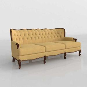 3D Model Classic Sofa Glancing Eye 23