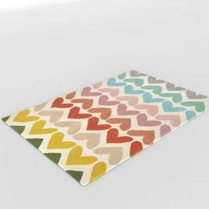 1 CrateAndBarrel Heart To Heart Rug